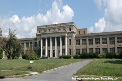 Former William Penn High School in Harrisburg Pennsylvania