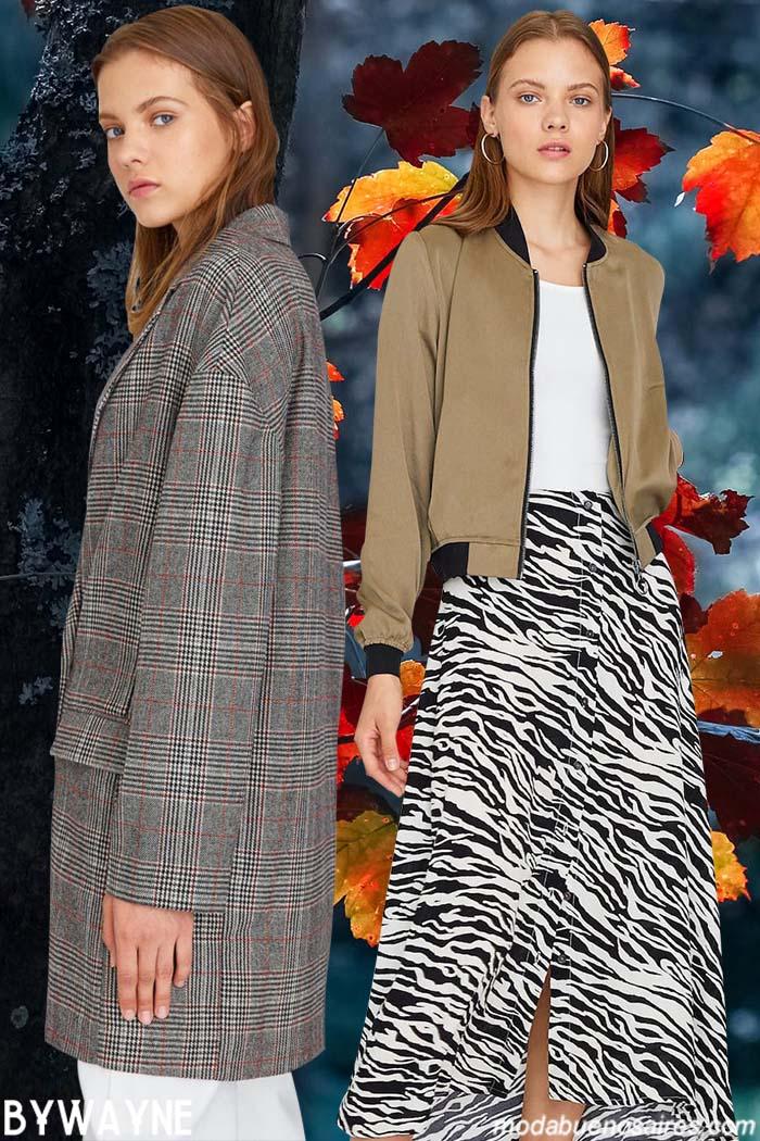 Faldas largas invierno 2020. Moda ropa de mujer invierno 2020.
