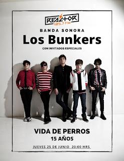 """Los Bunkers celebran los 15 años de su disco """"Vida de Perros"""""""