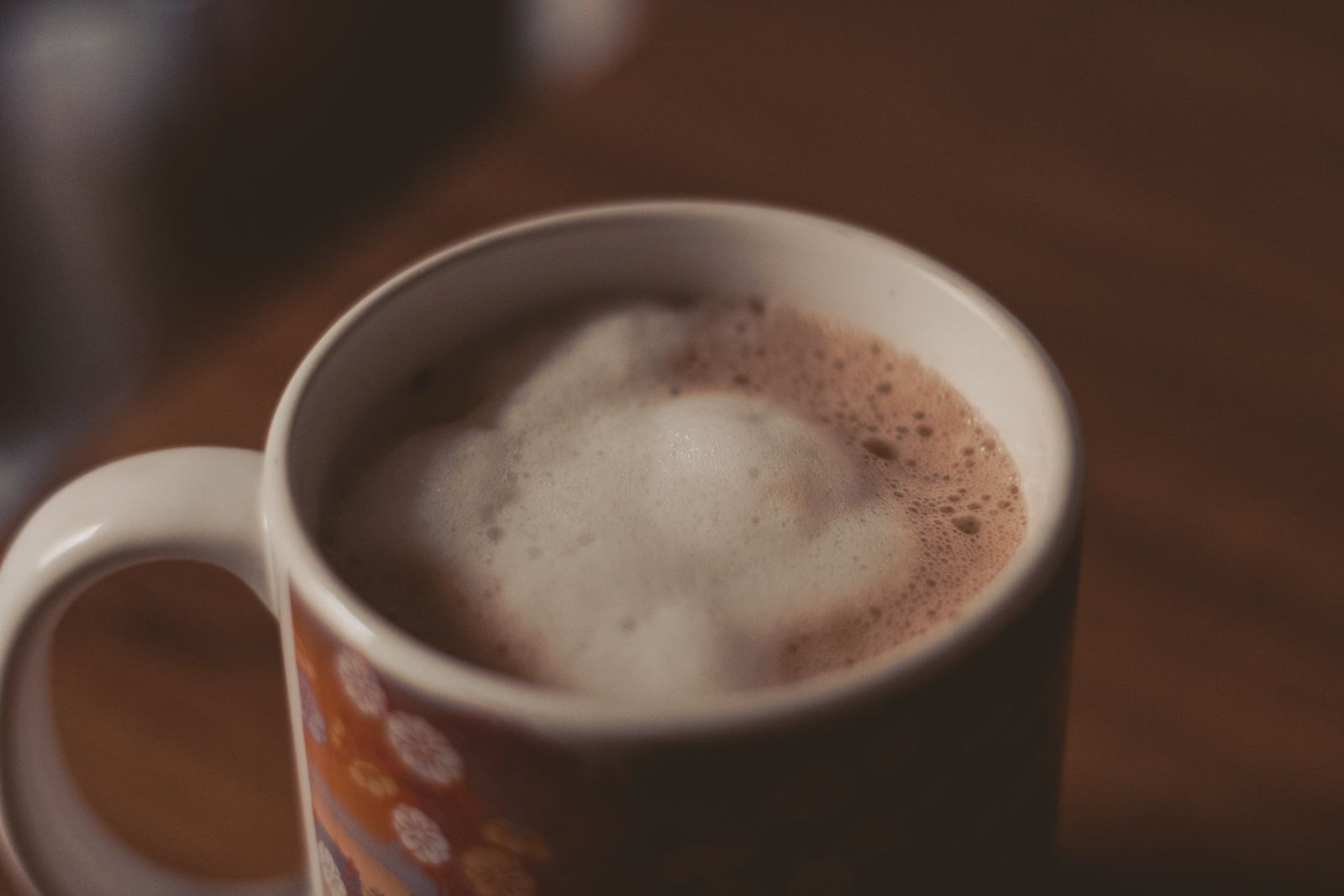 i don't like to talk about anything chocolate quente