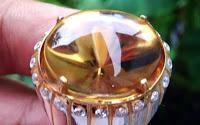 kecubung golden di borneo artshop