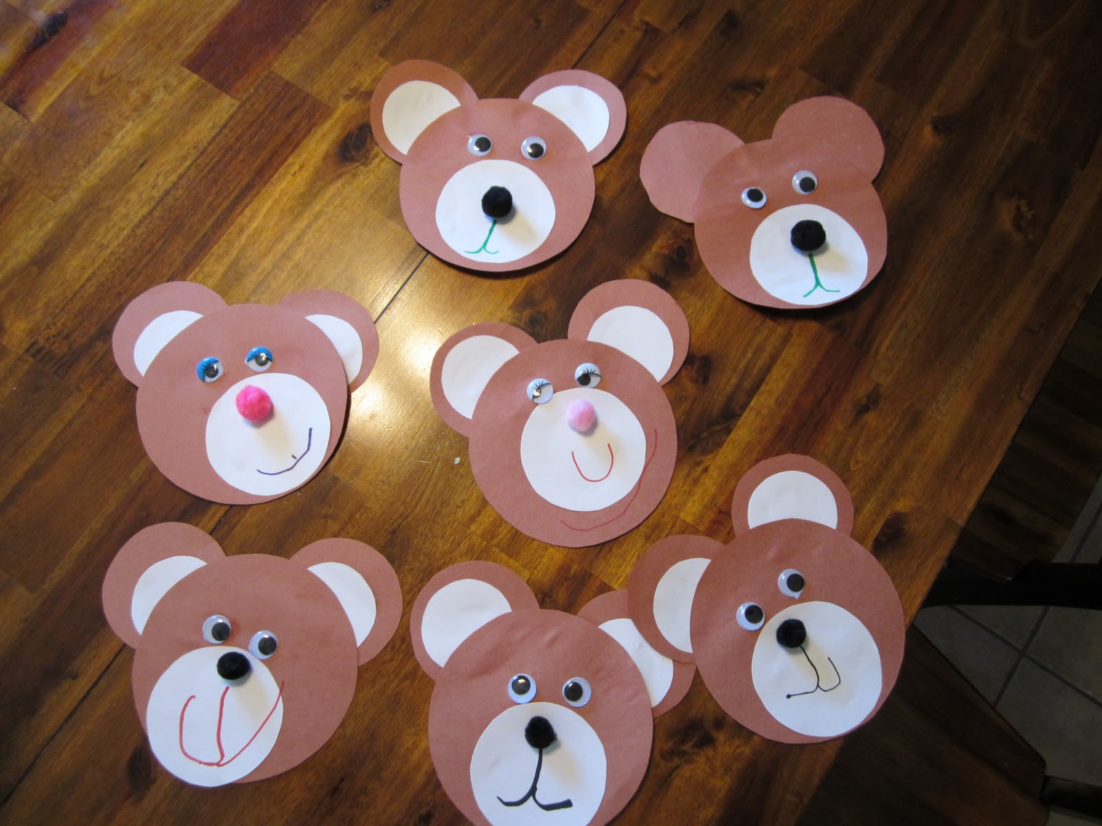 Goldilocks And The Three Bears Crafts For Kindergarten