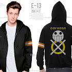 jas exclusive e13 hoodie anime one piece corazon