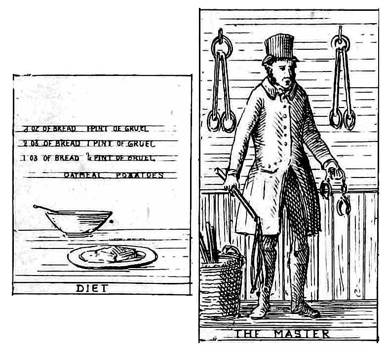 1841 poor house diet and master