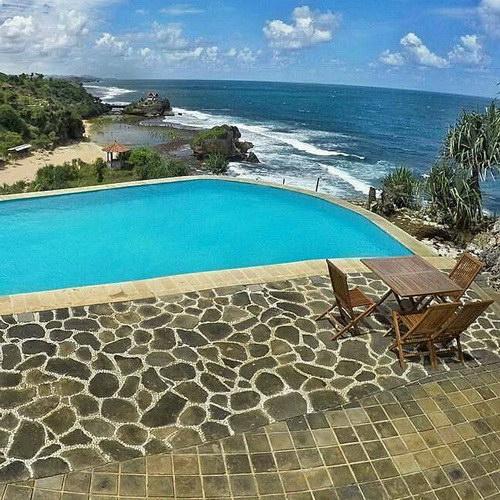 Tinuku Inessya Resort designing coastal topography hilly landscape Gunung Kidul expose Indian Ocean more dramatic