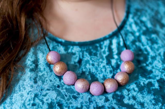 Perlenkette aus Kork