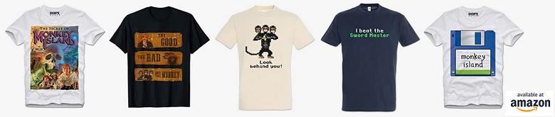 Camisetas Monkey Island