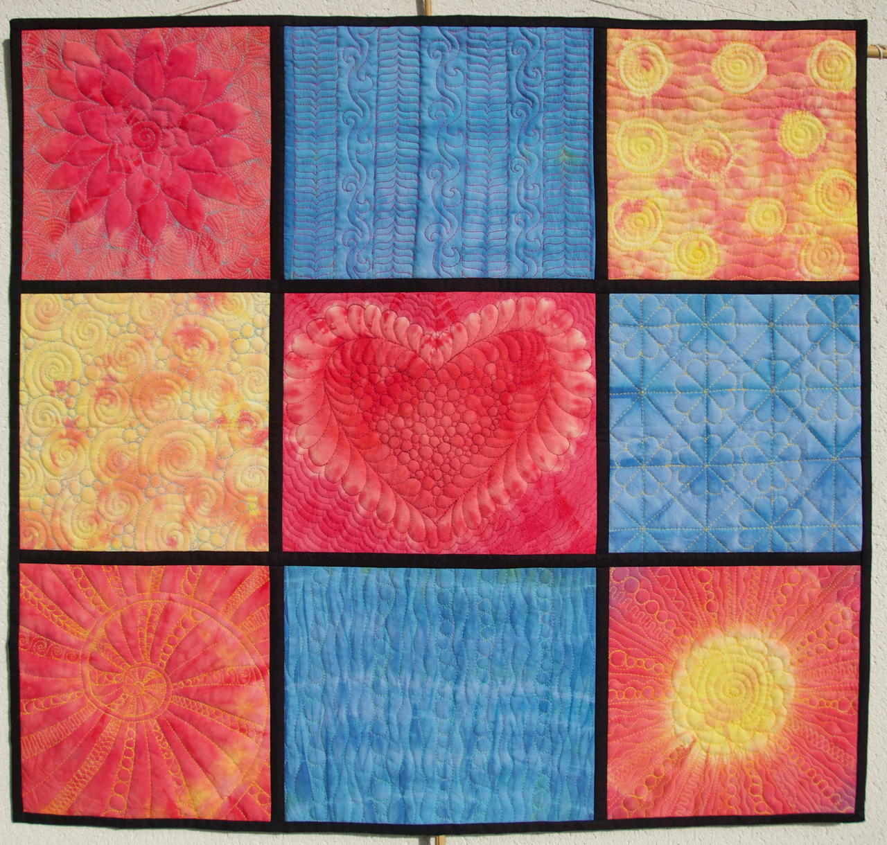 Quilt Art by Olena Pugachova: CMYK quilt : quilting meaning - Adamdwight.com