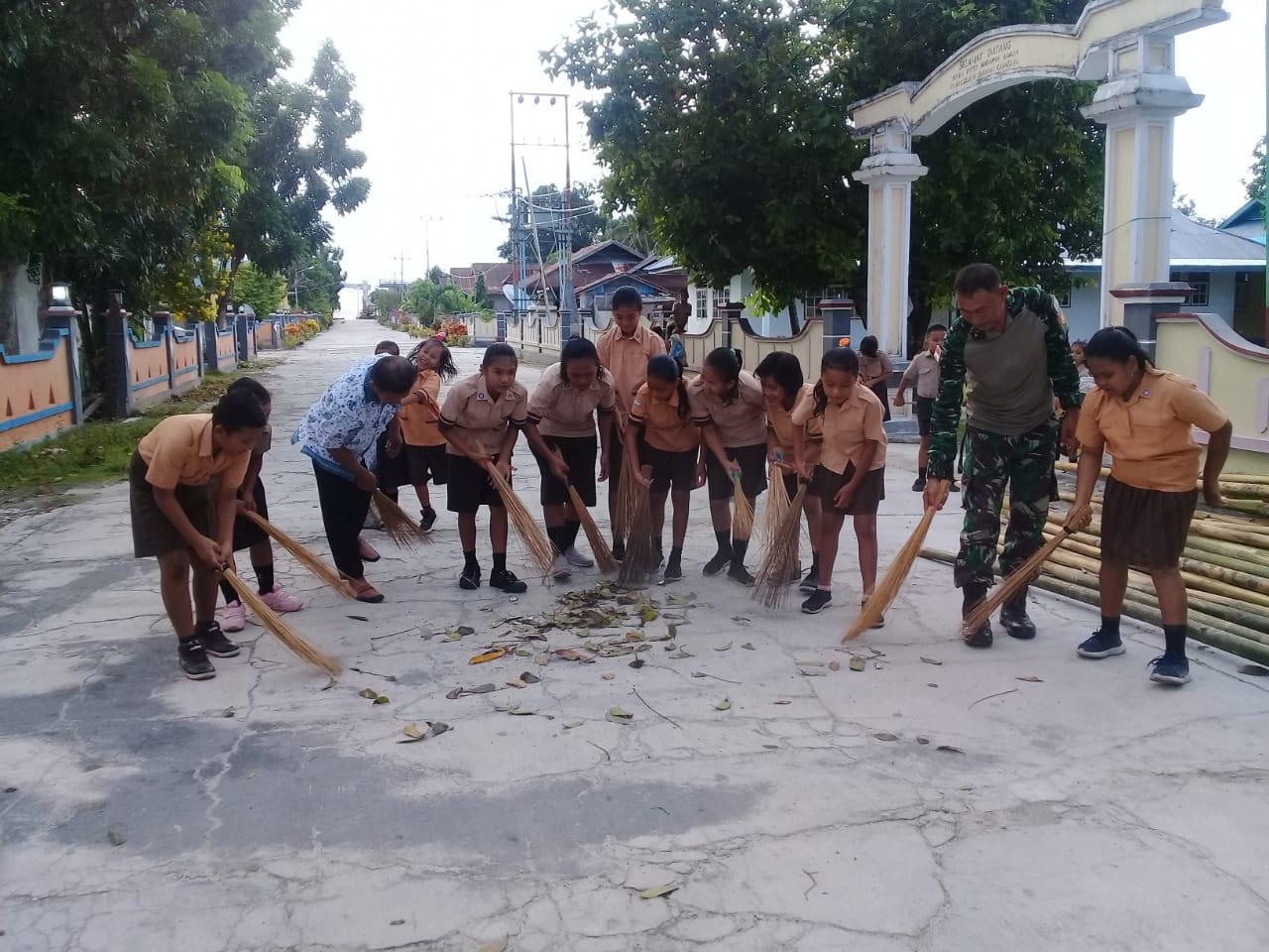 Jumpa Berlian Oleh Koramil 1312-06/Nanusa Bersama SDK Imanuel Karatung