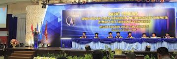 Wali Kota Menyampaikan Orasi Ilmiah Dalam Wisuda Vokasi dan Sarjana STMIK PPKIA Tarakan