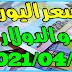 سعر جميع العملات في السوق الموازية اليوم بتاريخ 2021/04/11