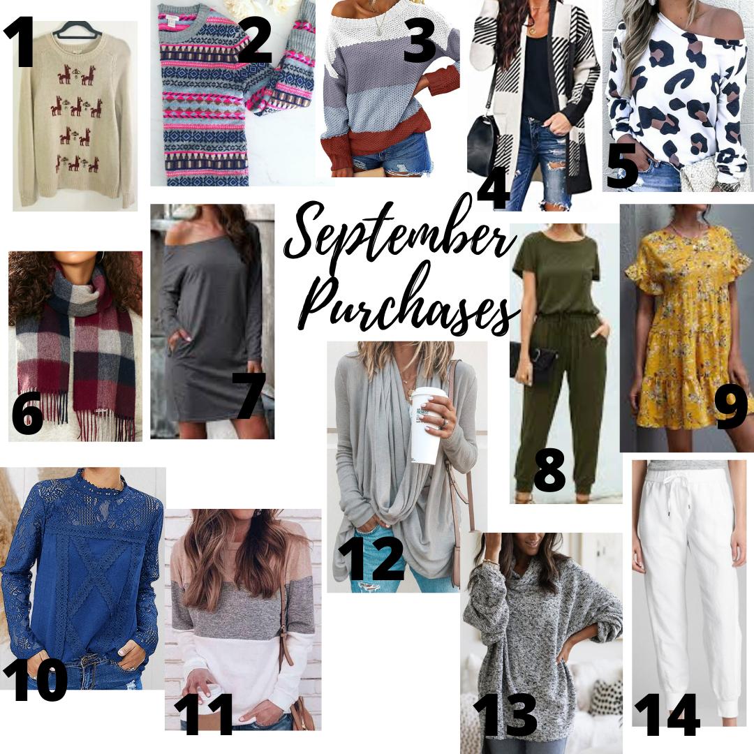 September Purchases