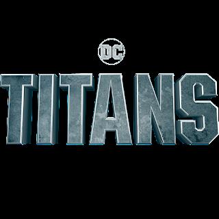 Titans written in stone block letters