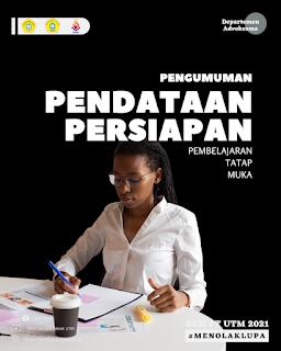 Pengumuman Pendataan Persiapan Pembelajaran Tatap Muka