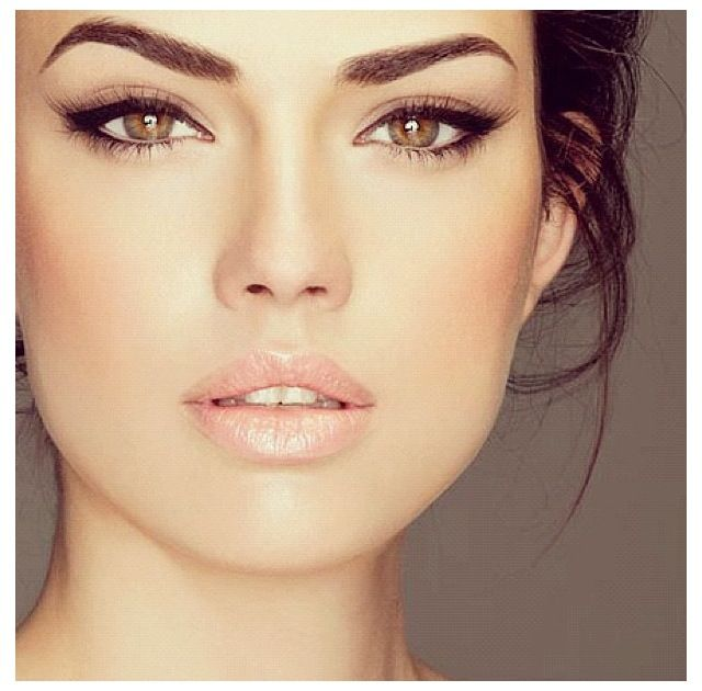 Brown Eyeliner Makeup for Brown eyes