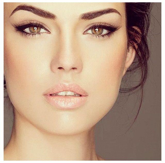 Brown Eyeliner Makeup for Brown eyes