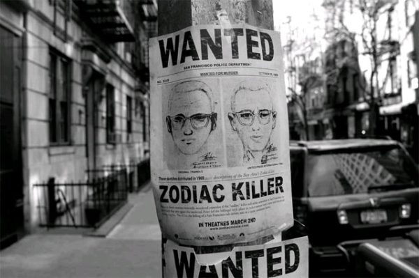 Bức hình truy nã kẻ sát nhân Zodiac.