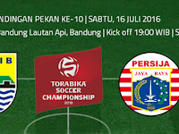 TSC 2016: Persib vs Persija