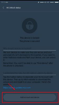 Bisa terjadi seperti itu dikarenakan mi account yang ada di xiaomi tidak cocok dengan yan Solusi Gagal Unlocking Bootloader Cuma Sampai 50%
