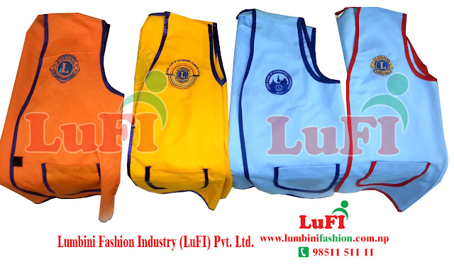 Lions Club Jacket Make and print | Kathmandu Nepal