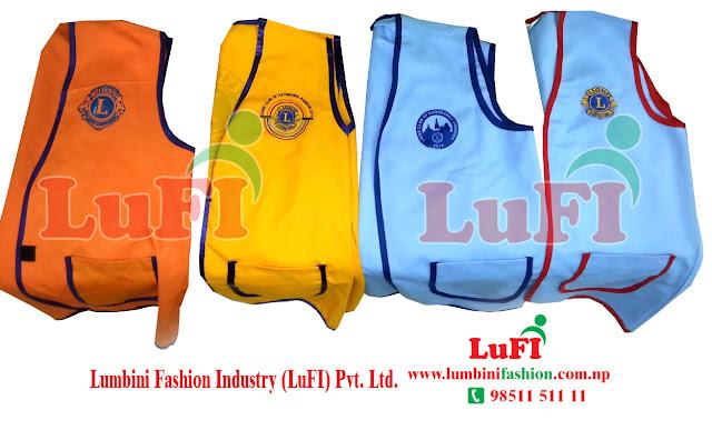 Lions Club Jacket Make and print | Kathmandu Nepal