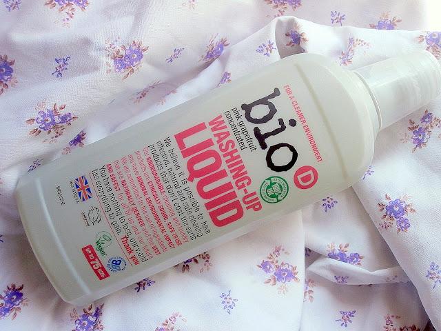 Bio-D - Grejpfrutowy, hypoalergiczny płyn do mycia naczyń