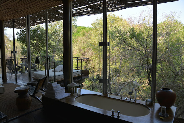 Singita Sweni South Africa hotel resort Kruger National Park bathroom