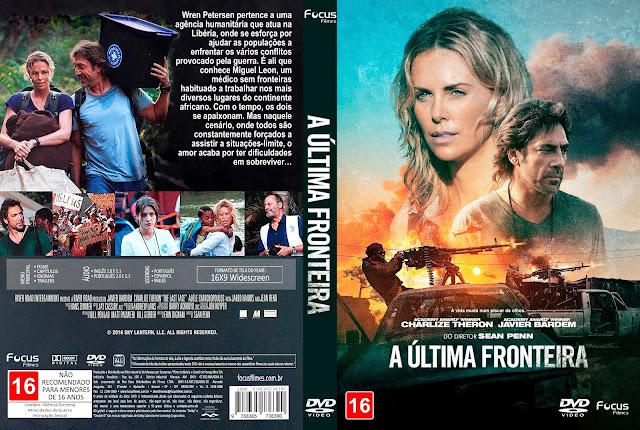Capa DVD A Última Fronteira [Exclusiva]