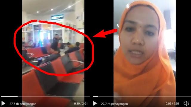 Viral Video Perusuh Neno Bukan Orang Riau, Terciduk di Bandara Saat Balik ke Jakarta