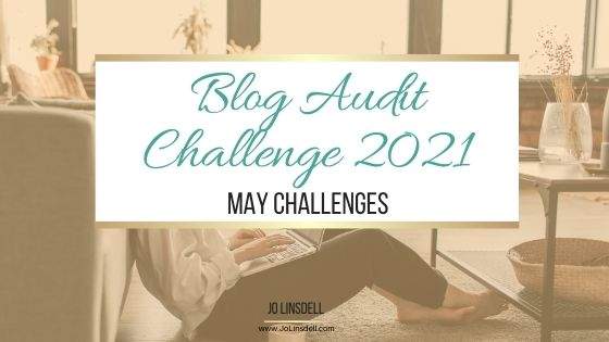 Blog Audit Challenge 2021: May Challenges
