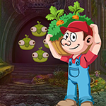Games4king Vegetable Man Rescue Walkthrough