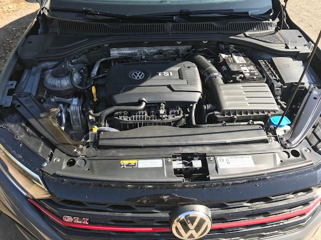Engine in 2019 Volkswagen Jetta GLI