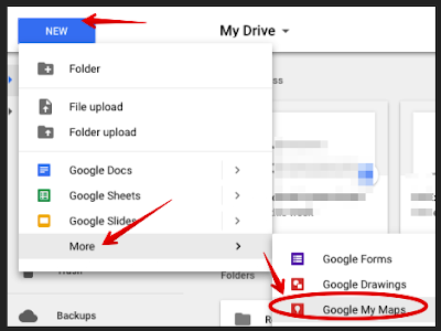 This Is How to Create A Customized Map on Google Drive