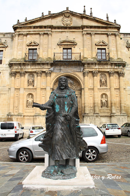 Sancho García, Monasterio de San Salvador de Oña