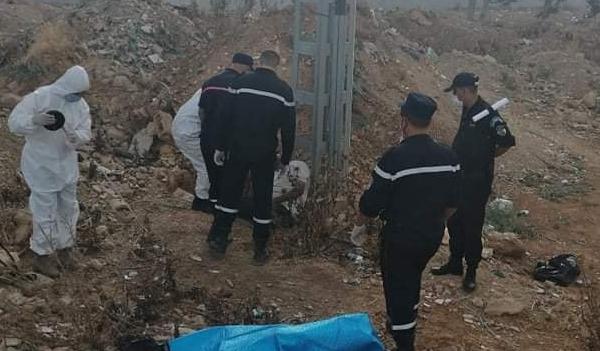 العثور على جثة شخص مشنوق بحبل بالشلف