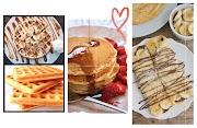 Receita - Crepes, Panquecas e Waffles