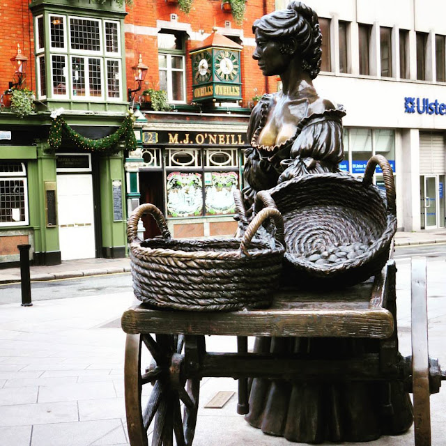 Dublin Day Out: Molly Malone Statue