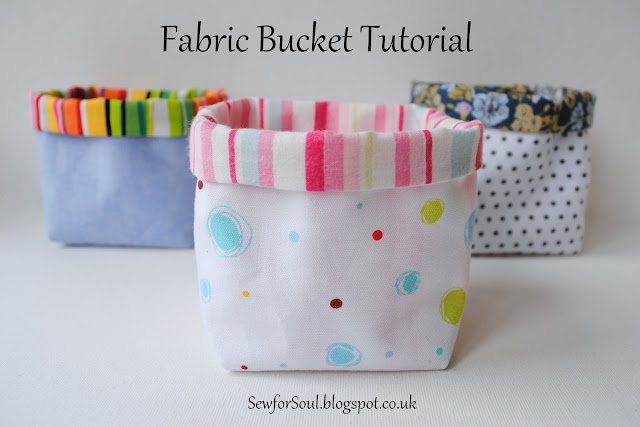 The Tutorial Gives A Choice Of Two Methods For Creating The Square Bucket  Bottom, The First Has The Shaping Included In The Pattern Piece, The Second  Shapes ...