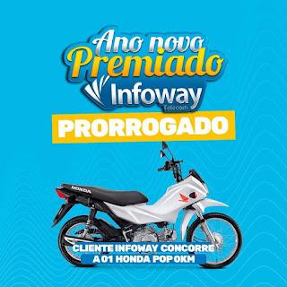 Ano novo premiado Infoway foi prorrogado
