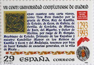 VII CENTENARIO DE LA UNIVERSIDAD COMPLUTENSE DE MADRID