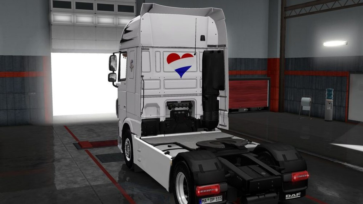Holland Style Skin for DAF by Schumi