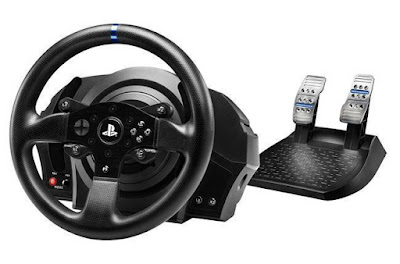 Thrustmaster T300RS Racing Wheel with pedals