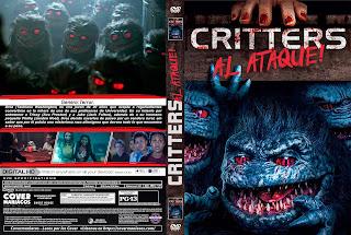 CRITTERS AL ATAQUE! - CRITTERS ATTACK! 2019 [COVER - DVD]