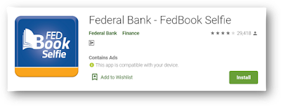 Federal Bank 0 Balance account