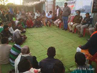 कैलाश नगर कैमोर में आयोजित किया गया नशा मुक्ति जनजागृति कार्यक्रम