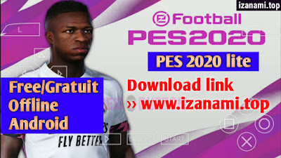 (250MB) PES 2020 Lite PPSSPP Android Offline Best Graphics    Free/Gratuit