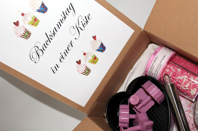 DIY, Basteln: Backsamstag Box in Geschenke aus der Küche und Geschenkideen - DIYCarinchen