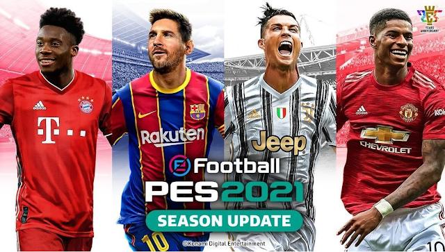 Lionel Messi Masih Berseragam Barcelona di PES 2021
