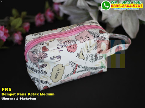 Dompet Paris Kotak Medium