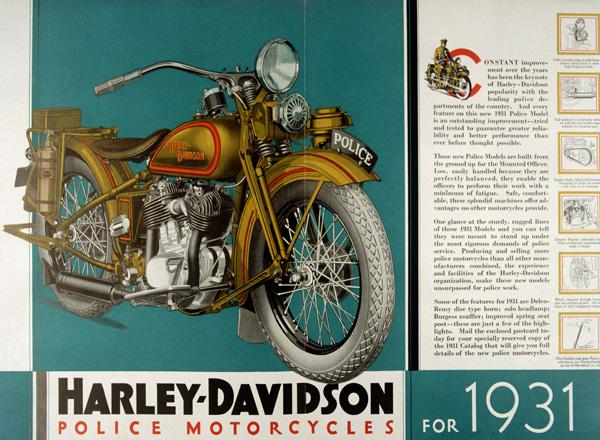 Harley Davidson Advertising: Harley-Davidson Advertising 1930's